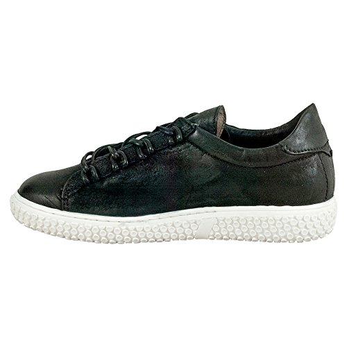 Miz Mooz Oriane Kvinners Skinn Sneaker Svart