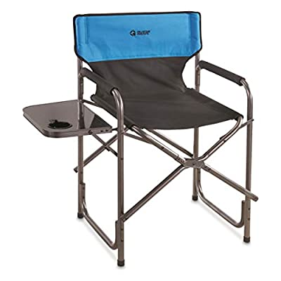 Guide Gear Oversized Tall Directors Chair, Blue, 500-lb. Capacity