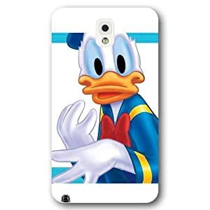 Customized White Frosted Disney Donald Duck Samsung Galaxy Note 3 Case