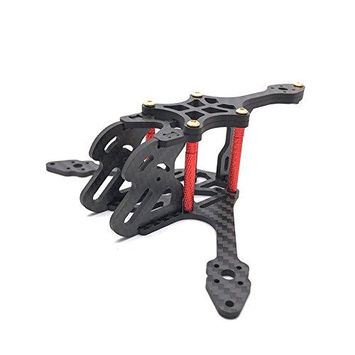 LaDicha Exuav Y120S 120Mm Mini Fpv Racing Rc Drone Frame Kit Di Supporto Runcam Split Camera In Fibra Di Carbonio