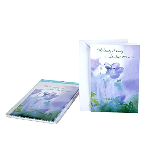 Hallmark Mahagony DaySpring Pack of Religious Easter Cards, Wonderfully Blessed (6 Cards with Envelopes) ()