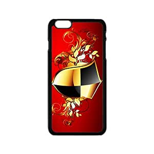 Glam Cool Shield Badge Custom Protective Hard Phone Cae For Iphone 6