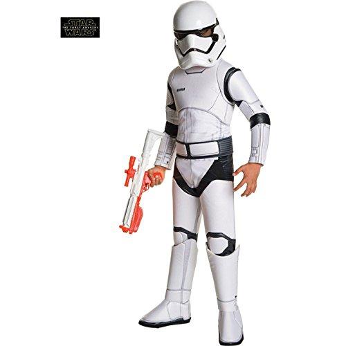 New Halloween Costumes For Kids (Star Wars: The Force Awakens Child's Super Deluxe Stormtrooper Costume, Medium)