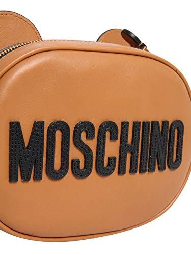 Marrone Moschino Spalla A Pelle A742080011085 Borsa Donna KaPa67YB