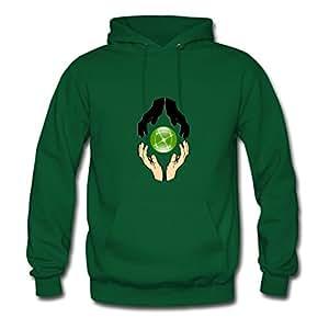 Rosaliwalt Vogue Green Informal Personalized X-large Women Hands Forming Unity Sweatshirts