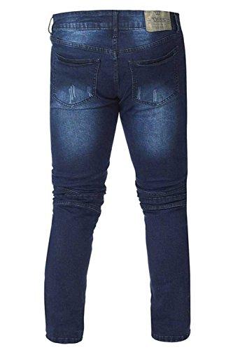 Vaquero D555 azul para Hombre vintage zSdSq