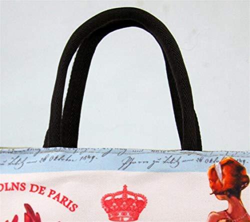 Isolé Imprimé Sac Le Et À cinquième Lunch L'école Box La Pour Travail Mode Bellecita wtxBvdqB