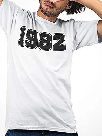 1982 ATIQ T-Shirt for Men, M