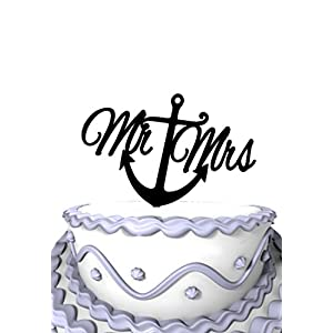 41rC2-c0JmL._SS300_ Beach Wedding Cake Toppers & Nautical Cake Toppers