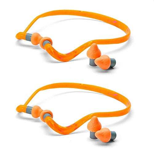Howard Leight by Honeywell Quiet Band Headband Earplugs 3 Pairs, QB2HYG, (Contains 3 Single Bags, Plus 3 Extra Pairs for Replacement) by Howard Leight (Image #3)
