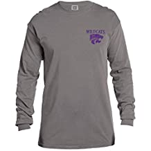 NCAA Vintage Poster Comfort Color Long Sleeve T-Shirt
