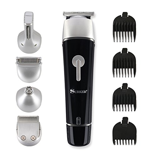 suprent beard trimmer kit 5 in 1 multi functional body groomer kit of mustache trimmer nose. Black Bedroom Furniture Sets. Home Design Ideas