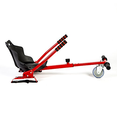 Hovergliss UX-K3 Hoverkart Mixte Adulte, Rouge