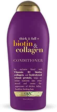 OGX Salon Size Thick and Full Biotin Conditioner, 25.4 Ounce