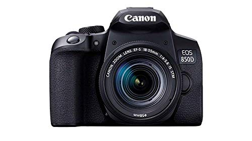 Canon EOS 850D + EF-S 18-55mm f/4-5.6 IS STM Lens