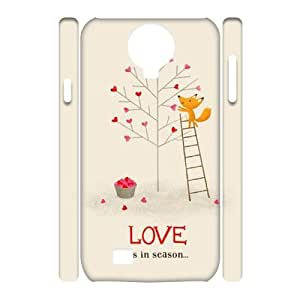 Winfors Happy Valentine's Day Phone 3D Case For Samsung Galaxy S4 i9500 [Pattern-3]