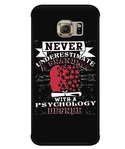 Design for Samsung Galaxy S6 Edge Case, Psychology Samsung Case, Psychology Degree Galaxy S6 Edge Case (Samsung Galaxy S6 Edge Case - Black)