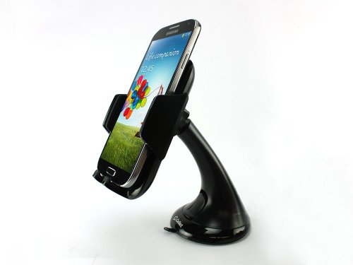 "Price comparison product image Cellet 3.5"" Windshield / Dashboard Car Mount Phone Holder for Microsoft Lumia 650, 950, 950 XL, 550, 540 Dual, 430, 640, 640 XL, 532, 435, 535"