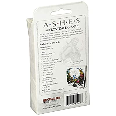 Ashes: The Frostdale Giants: Toys & Games