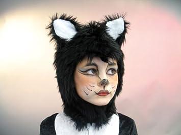 Kinder Karneval Katzen Kappe Zubehör Passend Zum Katze Kostüm