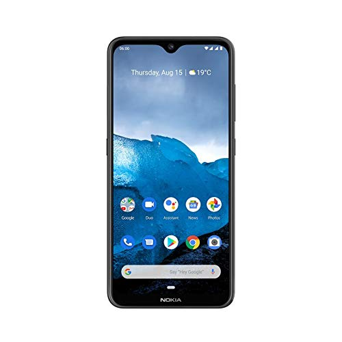 Nokia 6.2 Smartphone (6.3″ Full HD+ con Pure Display, 4GB + 64GB, Triple cámara Trasera 16Mpx + 5Mpsx + 8Mpx, Snapdragon 636, Android 9), Color Negro