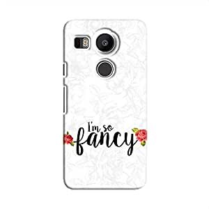 Cover It Up I m So Fancy Flower Hard Case For Nexus 5X - Multi Color