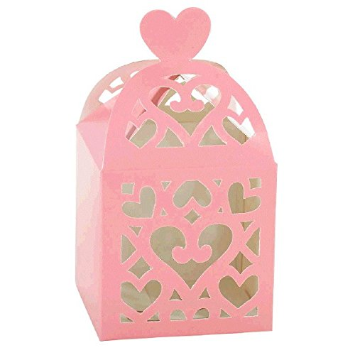 Lantern Favor Boxes - Pink