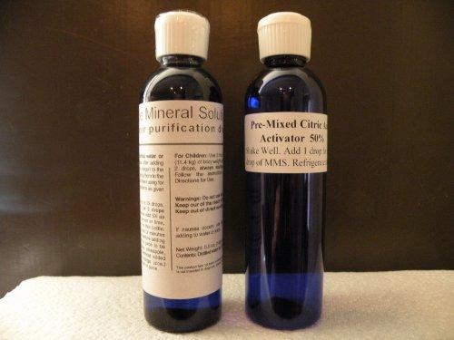 1 Sodium Chlorite Solution Kit de 28% de purification d'eau Gouttes MMS