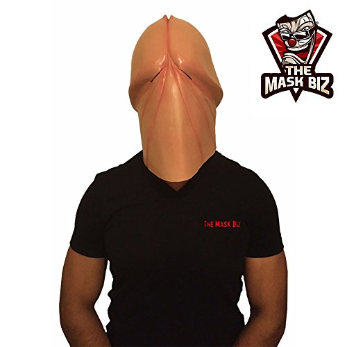 The Mask Biz™ Penis Mask Dick Head Funny Mask by The Mask Biz