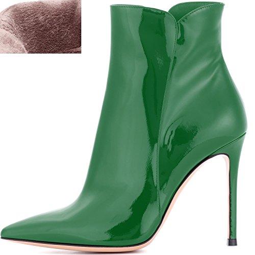 4 Botines inch para tac Zapatos ELASHE de mujer qUxFvnwq4t