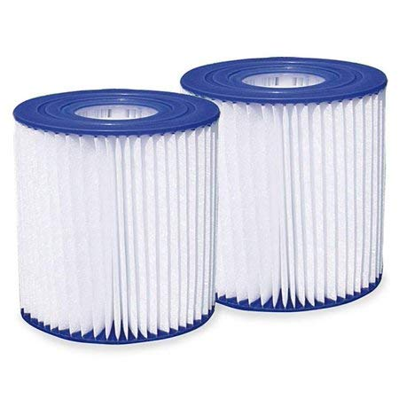 Type D Pool Filter Cartridges 2-Pack (Universal Replacement Model) by Summer Escapes