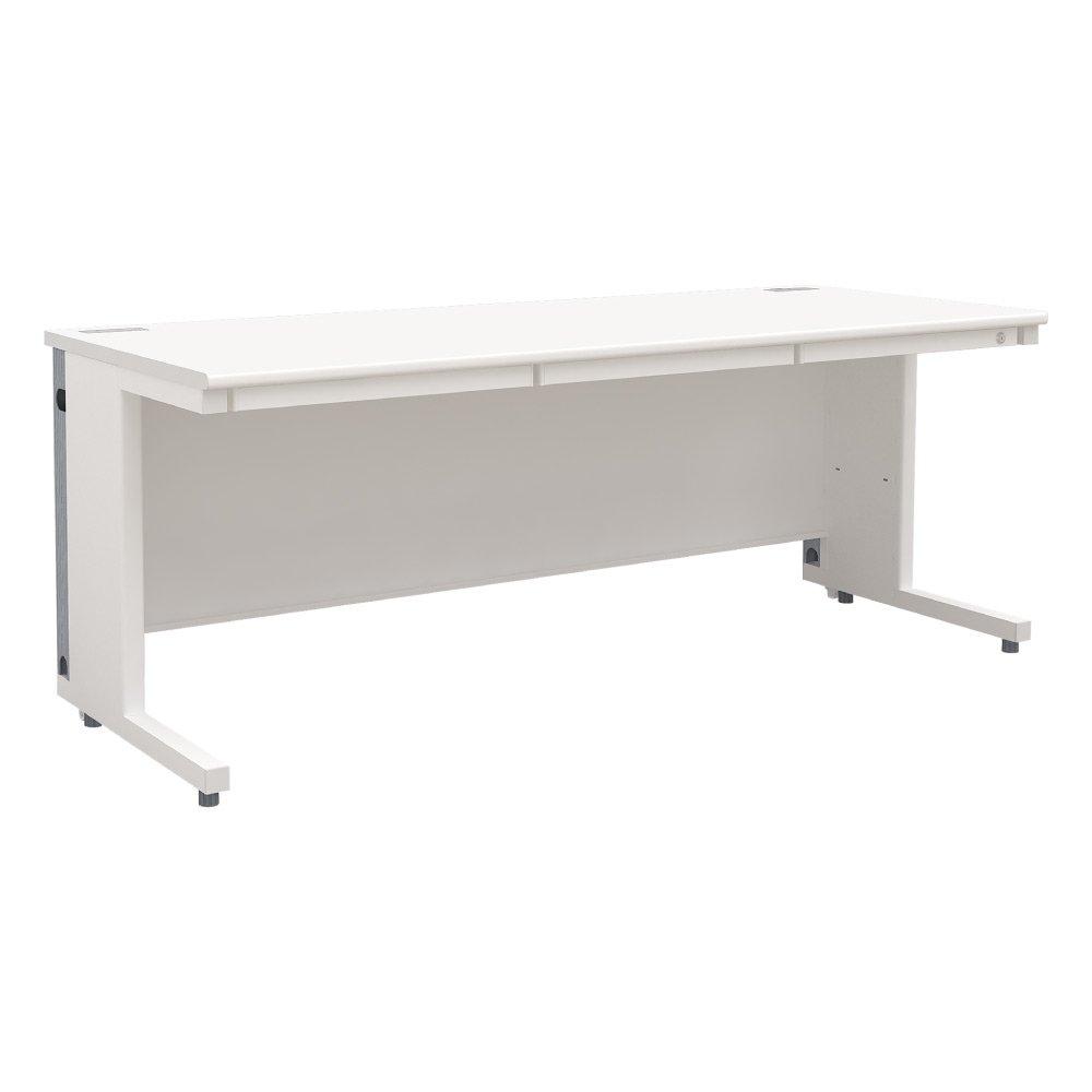 平机 オフィスデスク 多機能 整理収納(幅1800×奥行700ホワイト) B075FGBV1D幅1800ホワイト