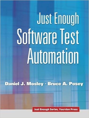 Just enough software test automation daniel j mosley bruce a just enough software test automation 1st edition fandeluxe Images