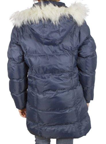 de felpa azul de para felpa forro suave invierno Abrigo capucha xRqwqPYvH1
