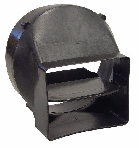 kaze Appliance Round Exhaust Ventilation Duct with Backdr...