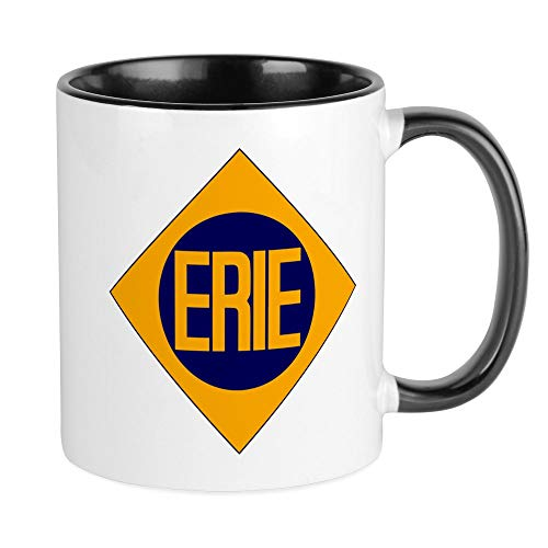 (CafePress Erie Railway Logo 2 Mugs Unique Coffee Mug, Coffee Cup)