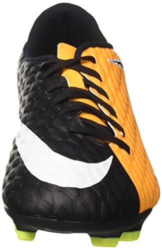Nike Herren Hypervenom Phade III FG Fußballschuhe Orange (Laser Orange/black-black-volt-white)