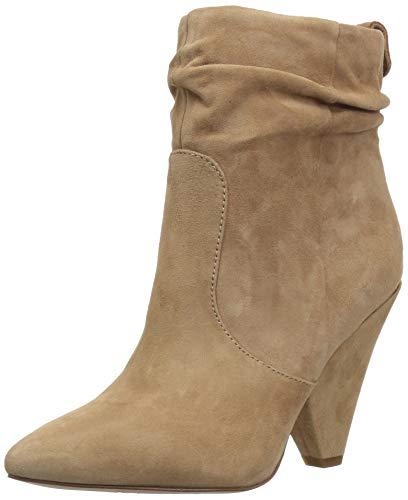 Sam Edelman Women's Roden Ankle Boot, Golden Caramel Suede, 9 M US