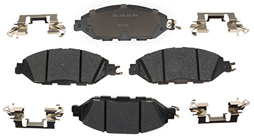 ACDelco 17D1649CH Professional Ceramic Front Disc Brake Pad Set ()