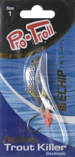 Pro-Troll Trout Killer Fishing Lure, 1 5/8-Inch, Holographic ()