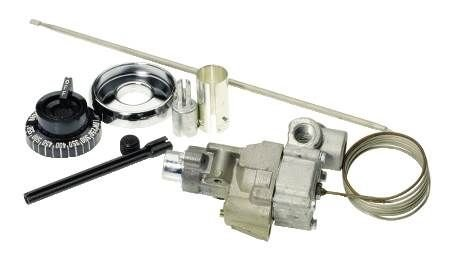 Robertshaw 4350-028 Gas Cooking Control Thermostat Kit for Griddles