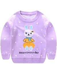 Toddler Baby Boy Gir Knit Pullover Sweater Warm Sweatshirt