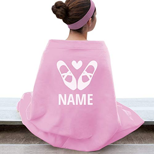 Custom Name Dance Ballet Blanket: Gildan DryBlend Stadium Blanket