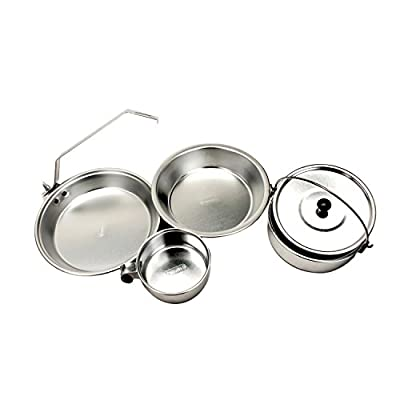 Coleman Mess Kit Aluminum, 1 Person from Coleman