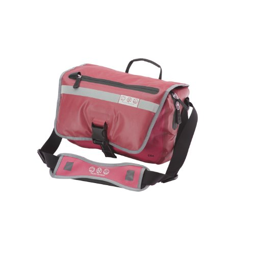 Pacific Outdoor Equipment Sitka Courier Bag (Red, 14 x 4 x 9- Inch) (Pacific Bag Outdoor Equipment)