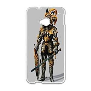Knight Of The Blazing Sun Warhammer 0 Game HTC One M7 Cell Phone Case White persent xxy002_6912068