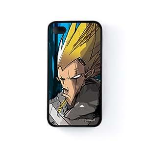 Guardian Funda Protectora Snap-On en Silicona Negra para Apple® iPhone 4 / 4s de Gangtoyz + Se incluye un protector de pantalla transparente GRATIS
