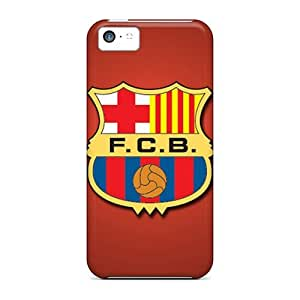 KarenWiebe Perfect Cases For Iphone 5c/ Anti-scratch Protector Cases (fc Barcelona)