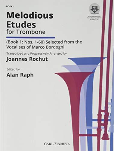 O1594X - Melodious Etudes for Trombone - Book 1: Nos. 1-60