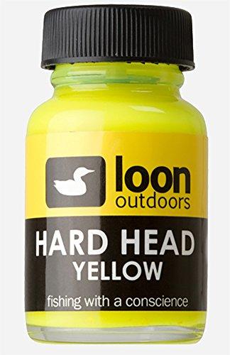 Loon Hard Head Non-Toxic Head Cement Yellow